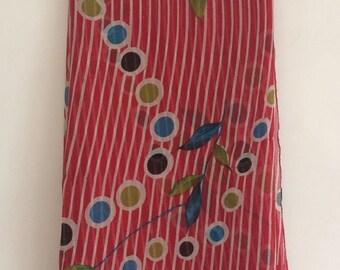 Free Shipping Vintage Printed Fabric Curtain Drape Decorative  Indian Women Wear Saree VKEA130