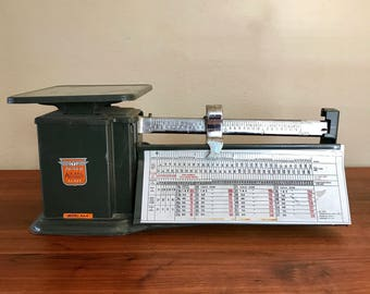 Vintage Scale, Air Mail Scale, Triner Air Mail Scale, Up To 4 Lbs