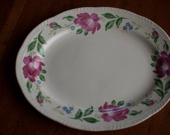 Platter | Homer Laughlin | Liberty Shape | HLC582