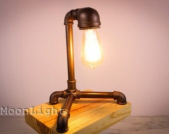 Edison table lamp | Etsy