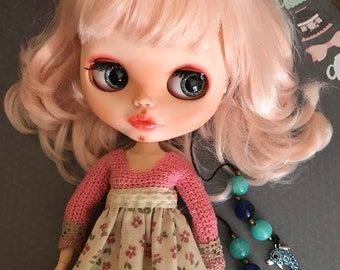 OOAK Custom type Blythe doll. Blythe customizada.offer free shiping