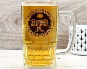 Personalised Brewing Company Beer Mug