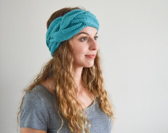 MADE TO ORDER | The Sarah Headband | Ear Warmer | Knitted Headband