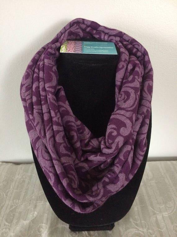 Infinity Scarf Jersey Knit Cotton Lightweight For All
