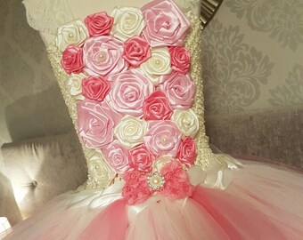 Flower girl special occasion tutu dress