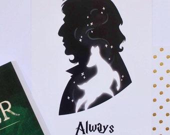 Print A5-Snape patronus
