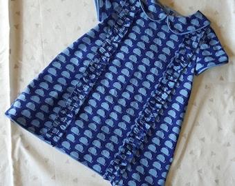 Baby Dress - Tiny Whale