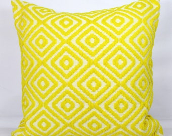 Lemon pillow shams standard shams yellow throw pillow covers 20x20 inch yellow pillow cover 24x24 euro sham 26x26 mustard pillow cover 18x18