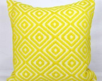Lemon pillow shams standard shams yellow throw pillow covers 20x20 inch yellow pillow cover 24x24 euro sham 26x26 mustard pillow cover 18x18