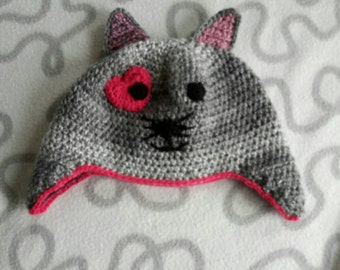 Crochet animal hat