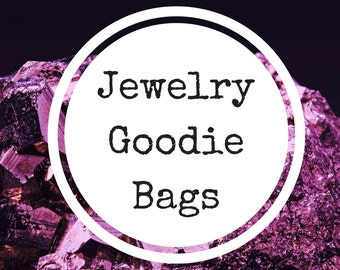 Jewelry Goodie Bags, Grab Bags, Jewelry Bags, Goodie Bags, Mystery Bags, Lucky Dip, Gothic Goodie Bag, Gothic Jewelry, Stocking Filler