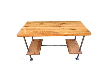 Custom Desk made from reclaimed wood