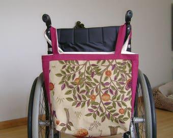 Wheelchair shopping bag  William Morris
