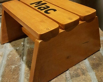 Personalized Toddler Step Stool
