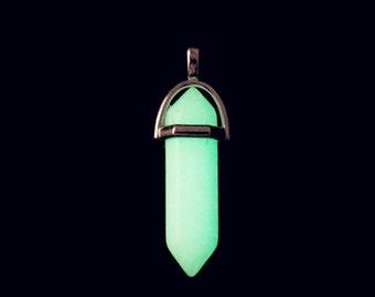 Atlantis necklace pendant, kida necklace making, glow in dark point pendant, atlantis crystal, kida cosplay, atlantis, glow in the dark