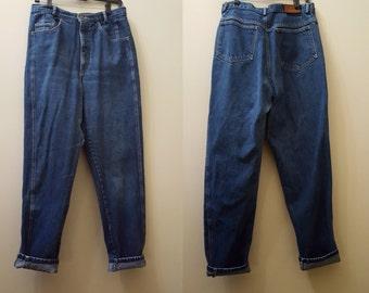 SALE Vintage Calvin Klein Jeans // 90s High-Waisted Calvin Klein Jeans