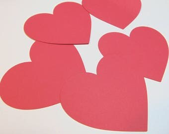 Heart Die Cuts Set of 20