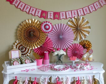 Pretty Pink Princess Birthday / Party In a Pinch / Party In a Box / Princess Party / Pink Princess Birthday Party