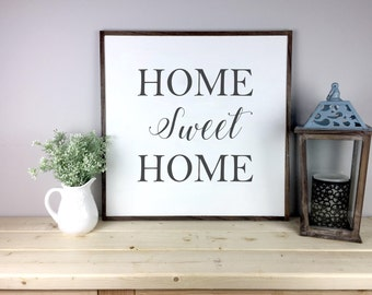 Home Sweet Home Sign | Home Sweet Home  House Warming Gift | Home Decor