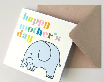 Mother's Day, Mothering Sunday Greetings Card