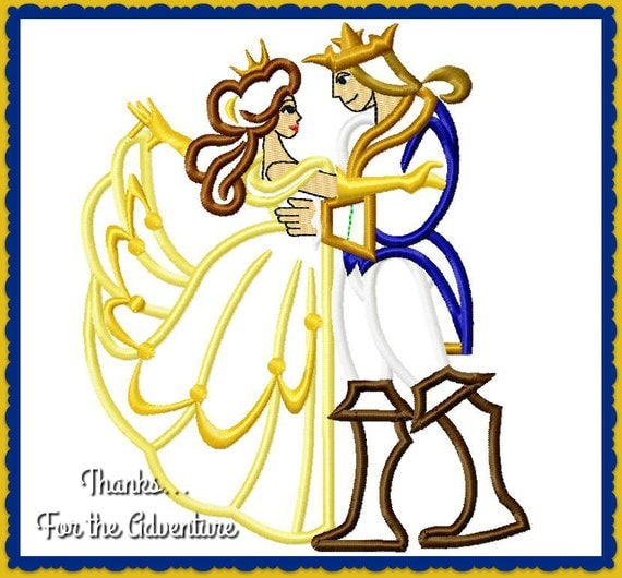 Princess Belle And Prince Adam Beauty And The Beast Gohana: Princess Belle And Prince Adam Stained Glass From Beauty And