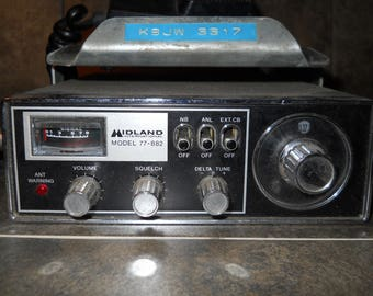 Vintage Midland Cb Radio Model 77-872