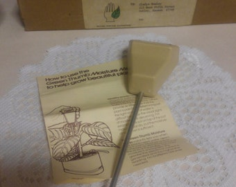 Vintage Green Thumb Moisture Meter...Brand New In Box