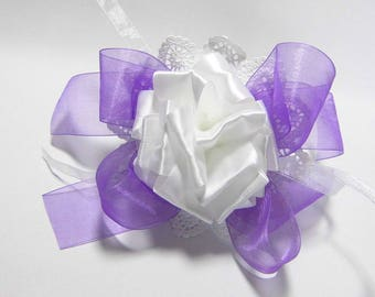 Table decorations white purple wedding decoration wedding table decorations of purple wedding decorations Dekoschleife Schleifendeko of purple flower decorations