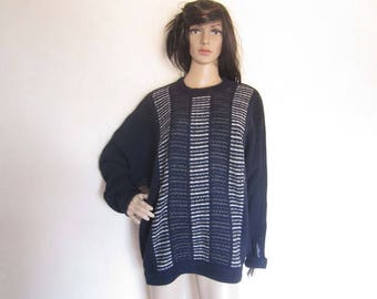 Vintage 80s Carlo Colucci Pullover Sweater unisex oversized