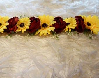Flower Browband