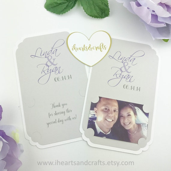 Picture Frame Holder For Instant Photo Party Favors