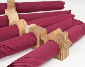 Rustic Napkin Rings - Wooden Napkin Rings - Wooden Napkin Holders - Napkin Holder Decor - Napkin Ring Decor - Napkin Rings - Napkin Holders