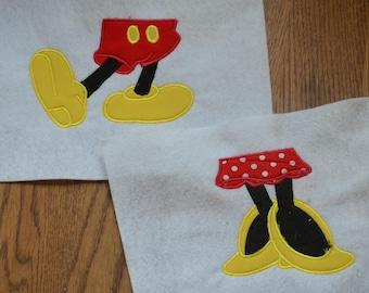 Disney Family Shirts - Mickey and Minnie Feet