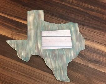 4x6 Texas Picture Frame, Texas Picture Frame, Texas Decor, Texan Decor, Rustic Texas Decor, Camo Decor, Unique Picture Frame, Camo