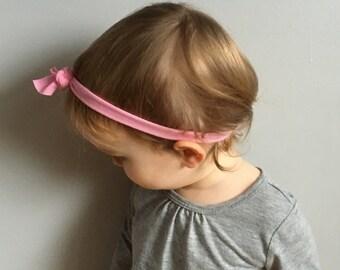 Headband, baby headband, toddler headband, knotted headband, stretchy headband