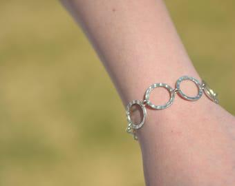 Silver Bracelet/ Boho Bracelet