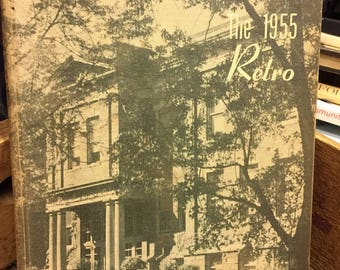 1955 RETRO Hartford City IN Yearbook