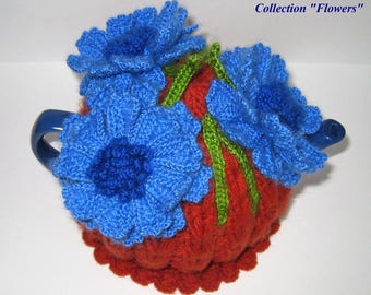Tea cozy. Teapot cosy. Crochet Tea Cozy. Knitted Tea Cosy. Tea Party. Tea Gifts.