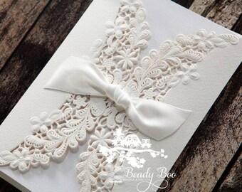 Wedding Invitation | Custom invitations | Unique invitations | Wedding stationery | Elegant invites - Everlasting Love