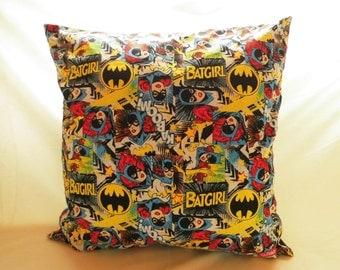 Pillowcase Batgirl comic book