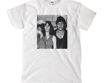 Patti Smith and Bruce Springsteen - White T-shirt