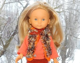"Clothes for dolls  fits Les Cheries Corolle , Paola Reina ,doll 12"",13"".Set - vest, skirt, shoes, shirt."