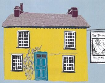 Story Tellers House Print