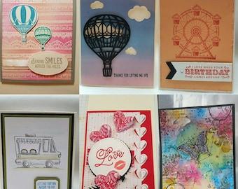 Customized Handmade Greeting cards