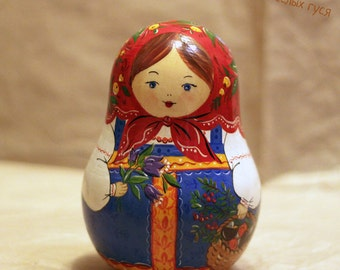 Matreshka (Russian Doll) Roly-Poly with a Jingle