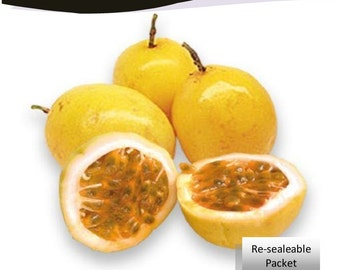 Passion Fruit Passiflora Edulis Parcha 25 Seeds Pack