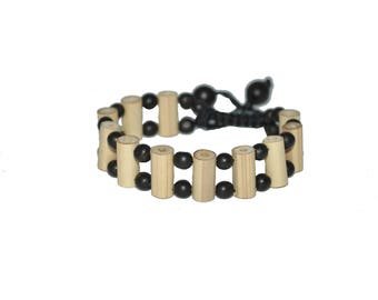 Mexican bamboo bracelet