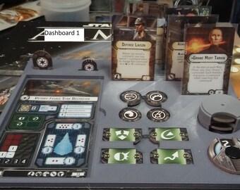 Armada Game Gear  Ship Dashboard Set of 2