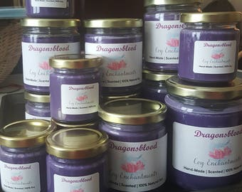 Dragonsblood Soy Candle - Handmade - Scented