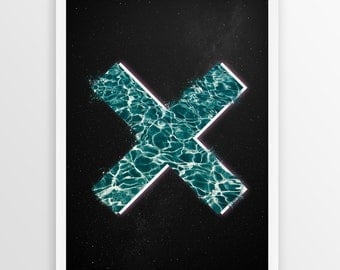 The XX Band Poster Print A4 & A3